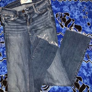 Holister Straight Boot cut jeans